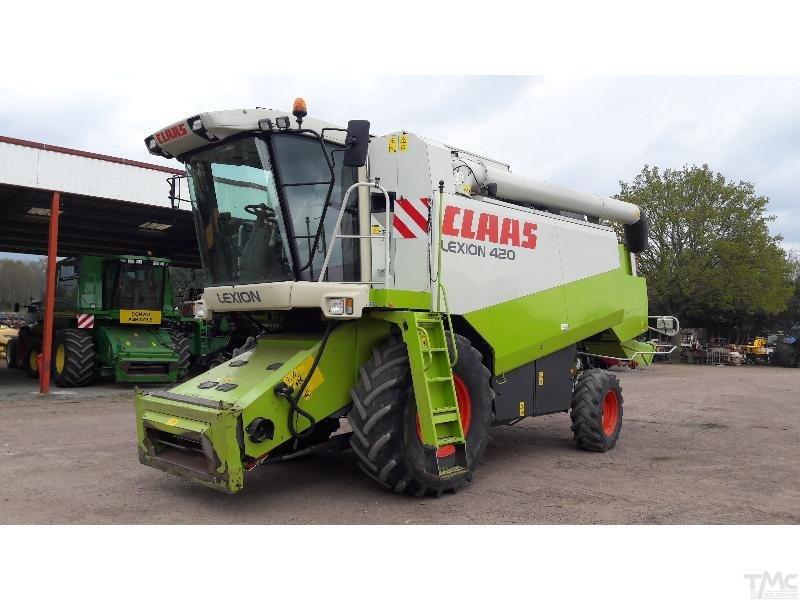 cosechadora automotriz CLAAS LEXION 420