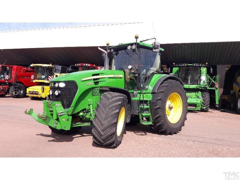 Tractor JOHN-DEERE 7730